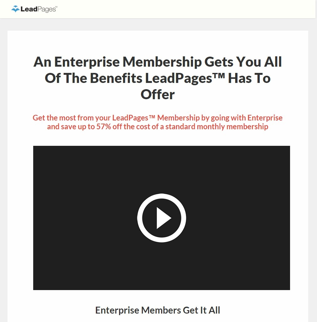 Best Video Sales Letter Landing Page Free Download